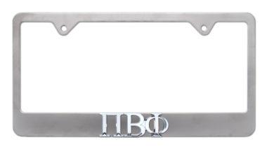 Pi Beta Phi Matte License Plate Frame