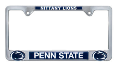 Penn State Nittany Lions 3D License Plate Frame image