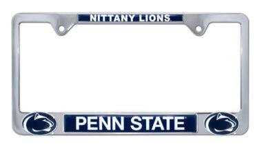 Penn State Nittany Lions 3D License Plate Frame