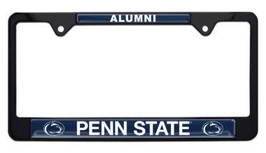 Penn State Alumni Black License Plate Frame