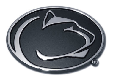 Penn State Black Chrome Emblem