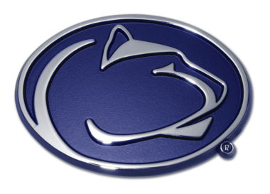 Penn State Navy Chrome Emblem