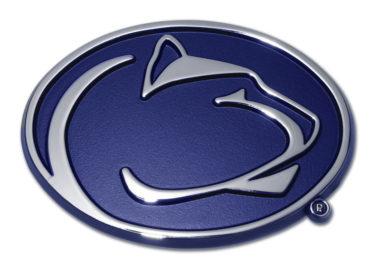 Penn State Navy Chrome Emblem