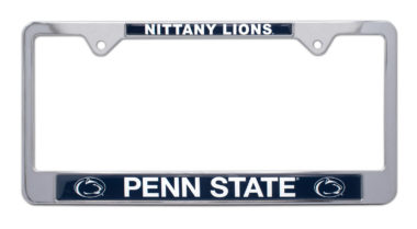 Penn State Nittany Lions License Plate Frame