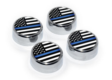 Police License Plate Frame Screws image