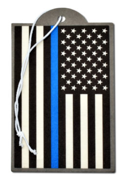 Police Flag Air Freshener 6 Pack