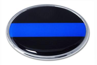 Police Chrome Emblem image