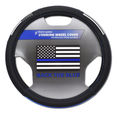 Police Steering Wheel Cover - Large image