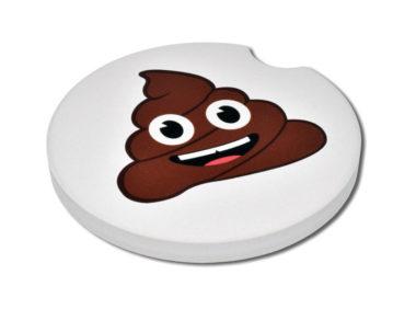 Poop Car Coaster - 2 Pack