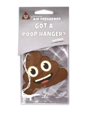 Coconut Poop Emoji Air Freshener 2 Pack