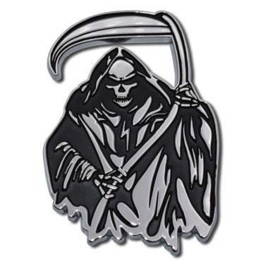 Grim Reaper Chrome Emblem