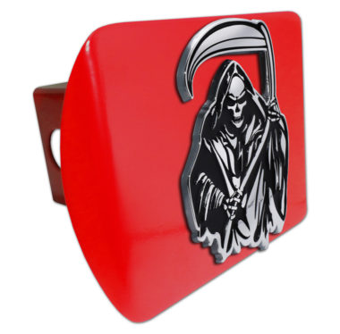 Grim Reaper Red Hitch Cover