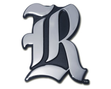 Rice University Chrome Emblem