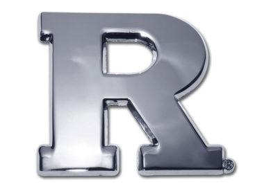 Rutgers University Chrome Emblem