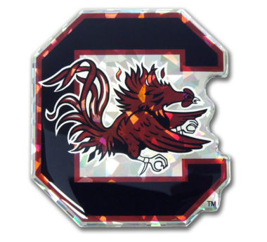 University of South Carolina 3D Reflective Decal image