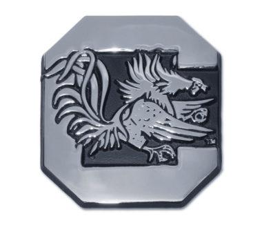 University of South Carolina Gamecock Chrome Emblem image