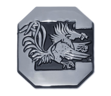 University of South Carolina Gamecock Chrome Emblem