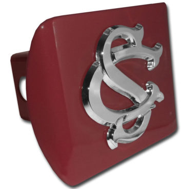 University of South Carolina Emblem on Garnet Hitch Cover