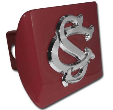 University of South Carolina Emblem on Garnet Hitch Cover