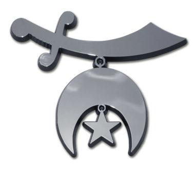 Shriner Chrome Emblem image