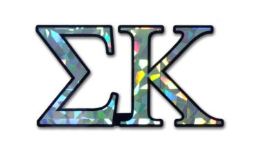 Sigma Kappa Reflective Decal