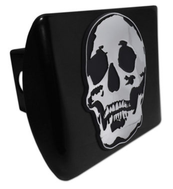 Skull Black Hitch Cover image