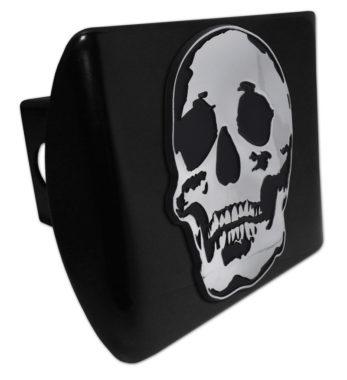 Skull Black Hitch Cover