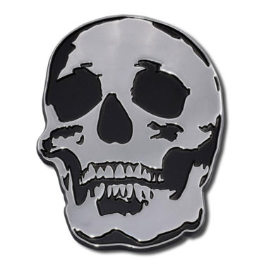 Skull Chrome Emblem