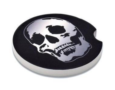 Skull Car Coaster - 2 Pack