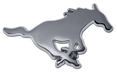 SMU Chrome Emblem