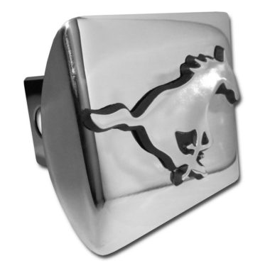 SMU Chrome Hitch Cover