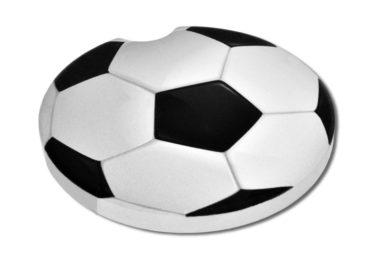 Soccer Ball Car Coaster - 2 Pack image