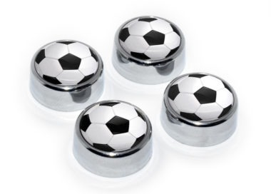 Soccer Ball License Plate Frame Screws image