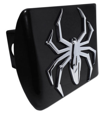 Lightning Spider Black Hitch Cover