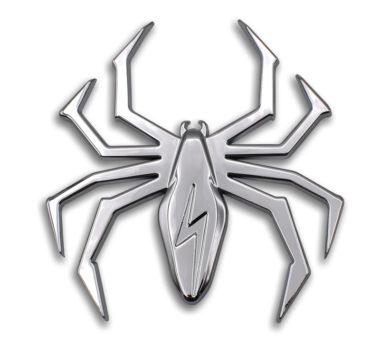 Lightning Chrome Spider Emblem image