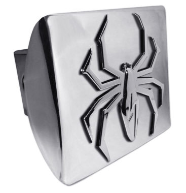 Lightning Spider Chrome Hitch Cover