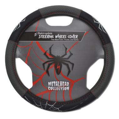 Spider Steering Wheel Cover - Small image