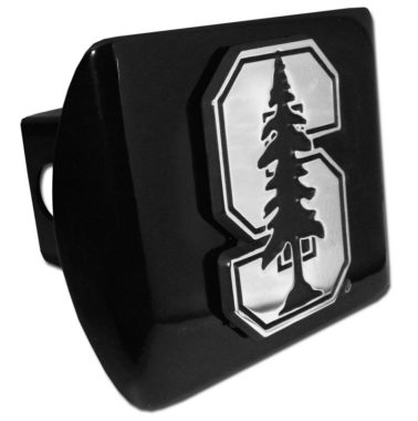 Stanford University Emblem on Black Hitch Cover