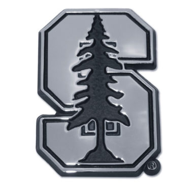 Stanford University Chrome Emblem image