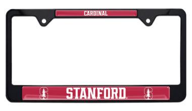 Stanford University Cardinals Black License Plate Frame