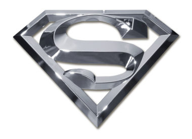 Superman Chrome Emblem