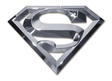Superman Chrome Emblem