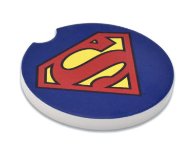Superman Car Coaster - 2 Pack