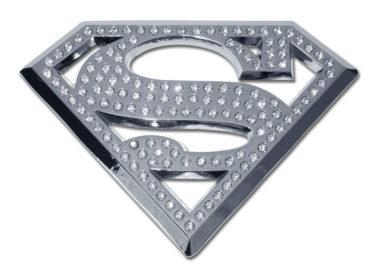 Superman Crystal Chrome Emblem image