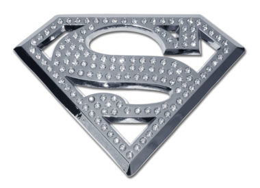 Superman Crystal Chrome Emblem