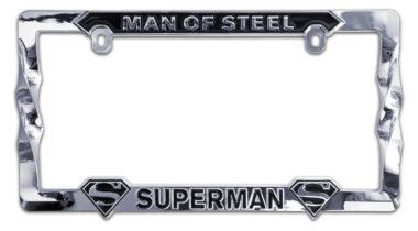 Superman 3D License Plate Frame
