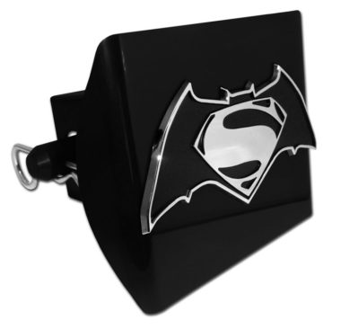 Batman v Superman Black Plastic Hitch Cover