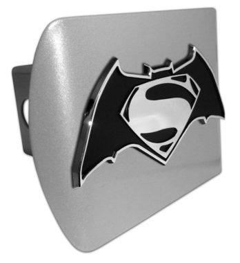 Batman v Superman Brushed Hitch Cover