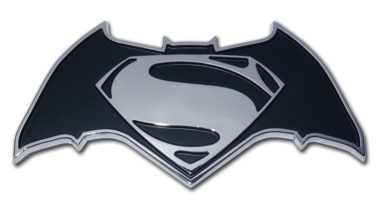 Batman v Superman Chrome Emblem image