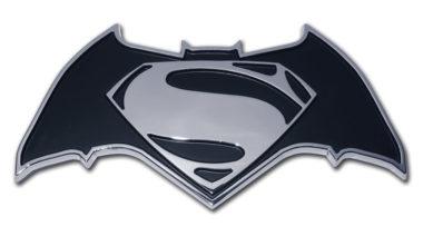 Batman v Superman Chrome Emblem image